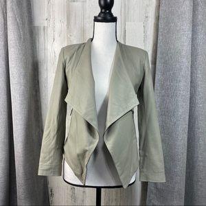 BB Dakota Brycen Leather Jacket in Gray